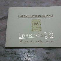 Eberhard & Co. warranty papers booklet aiglon model...