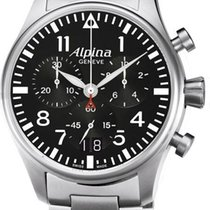 Alpina Geneve Startimer Pilot AL-372B4S6B Herrenchronograph...