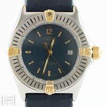 Breitling Uhr Callistino Lady Edelstahl/Gold Ref. B52044