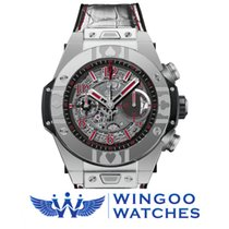 Hublot - BIG BANG UNICO WORLD POKER TOUR STEEL Ref. 411.SX.117...