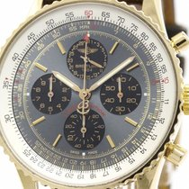 Breitling Polished Breitling Navitimer Stratos Ltd Edition 18k...
