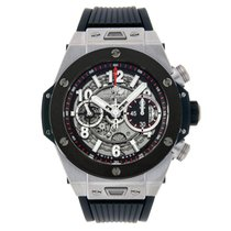 Χίμπλοτ (Hublot) Big Bang 45mm Unico Titanium Ceramic Watch
