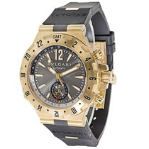 Bulgari Diagono GMT 40 G Men's Watch in 18K Yellow Gold