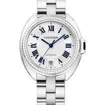Cartier WSCL0007 Cle de Cartier Automatic in Steel - on Steel...