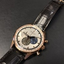 Zenith CHRONOMASTER  EL PRIMERO Rose Gold-Silver Dial 182043400