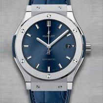 Hublot Classic Fusion Blue Titanium 511.NX.7170.LR (Titanium)
