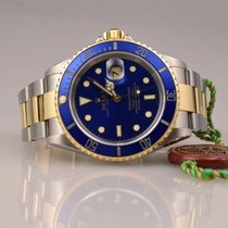 Rolex Submariner Date  16613 Stahl Gold perfekte Facette - Z...