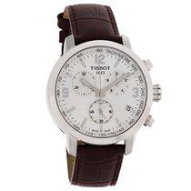 Tissot PRC 200 Mens Brown Swiss Chronograph Watch T055.417.16....