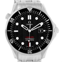 Omega Seamaster 300m Black Wave Dial Mens Watch 212.30.41.61.0...