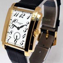 Patek Philippe 5024 Gondolo 18k Gold Manual Mens Watch &...