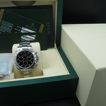 Rolex DAYTONA 116520 Stainless Steel Black Dial with Box and Card