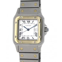 Cartier Santos Galbee 187901 Steel, Yellow Gold, 29x41mm
