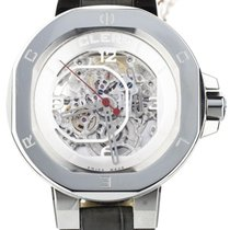 Clerc Iconic 8 Steel Skeleton Watch Auto
