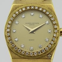 Vacheron Constantin Quartz Ref-222 18K Gold Ladies