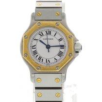 Cartier Santos 18k YG / SS Automatic