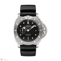 Panerai Luminor Submersible 1950 Black Dial Titanium Black...