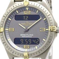 브라이틀링 (Breitling) Polished Breitling Aerospace 18k Gold...