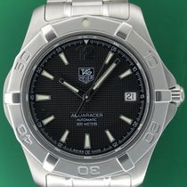 TAG Heuer Aquaracer Automatic Date Black Dial Stainless Steel