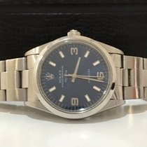 Rolex Air King Blue Dial Completo Impecavel