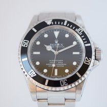 Rolex Submariner 14060M Engraved Rehaut 4 line none date