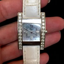 Chopard Your Hour Steel Ladies Watch W/ All Factory Diamonds...