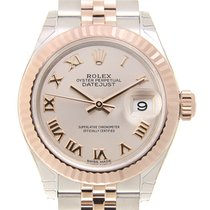 勞力士 (Rolex) Lady Datejust 18k Rose Gold And Steel Pink...