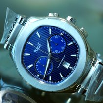 Piaget Polo S Chronograph Blue dial - G0A41006