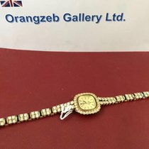 Delma Ladies Vintage 18 K gold with Diamonds Ruby Sapphire