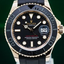 Rolex 116655 Yacht Master 18K Rose Gold / Rubber (29647)