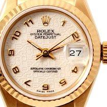 "Rolex Ladies 18k Gold President ""Jubilee"" Arabic Dial"