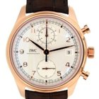 IWC Portoghese Chrono Iw390402 In Red Gold And Leather, 42mm