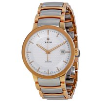Rado Men's Centrix Automatic Black Dial Watch