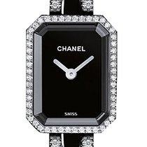 Chanel Première Oro bianco-ceramica-diamanti  ref. H2147