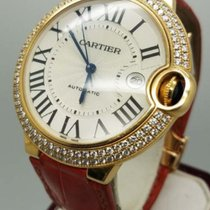 Cartier Ballon Bleu in Yellow Gold with Diamond Case Large Size