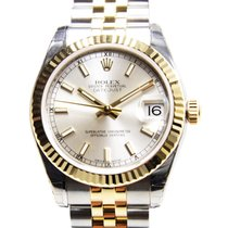 勞力士 (Rolex) Lady Datejust Gold And Steel Silver Automatic...