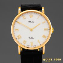 Rolex Cellini  5112  18K Gold   Jubilee Dial  Men's  Box...