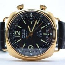 Panerai Radiomir GMT Alarm 42mm PAM 238 18k Roségold - LC100