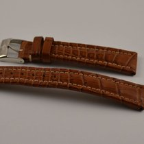 Breitling Kroko Leder Armband Band 19mm 19-16 Mit Dornschliess...