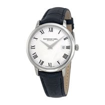 Raymond Weil Toccata Leather Strap Mens Watch 5488-STC-00300