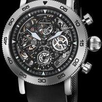 Chronoswiss Timemaster Chronograph Skeleton Steel-Black ...