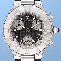 """Cartier 21 """"Chronoscaph""""."""