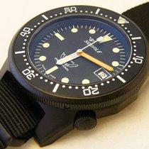 Squale Professional 500mt - 1521-026 Black PVD, black nato strap