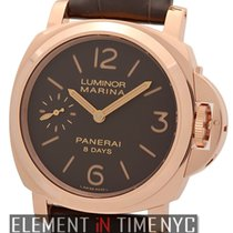 Panerai Luminor Collection Luminor Marina 8 Days 18k Rose Gold