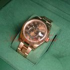 Rolex Sky Dweller 18kt Everose Rose Gold on Bracelet 42...