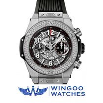Hublot - Big Bang Unico Titanium Diamonds Ref. 411.NX.1170.RX....