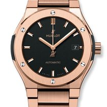 Hublot Classic Fusion 45mm King Gold Bracelet Automatic Watch