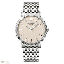 Patek Philippe Calatrava 18K White Gold Men`s Watch