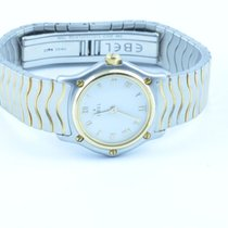 Ebel Classic Wave Damen Uhr 23mm Sport Classique Stahl/gold...