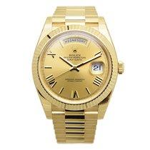 勞力士 (Rolex) Day-date 18 K Yellow Gold Gold Automatic 228238CHRN