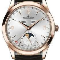 Jaeger-LeCoultre New Master Ultra Thin 18k Rose Gold Silver